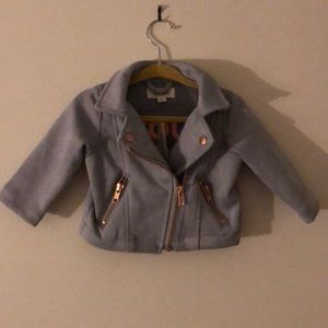 Gymboree baby Girls Faux Suede Jacket